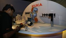 KUKA Robotics showcases innovation, at German